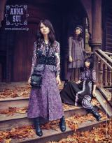 乃木坂46が「ANNA SUI 2015年秋冬」のアジア圏ビジュアルモデルに抜てき