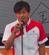 「世界水泳ロシア・カザン2015」競泳日本代表選手壮行会に出席した金子雅紀 (C)ORICON NewS inc.
