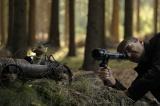 森の中で行った撮影の様子
