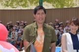 東京・池袋のサンシャインシティで始まった『夏休みポケモンカーニバルinサンシャインシティ』オープニングイベントに出席した篠原信一 (C)ORICON NewS inc.