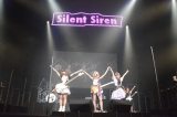NHKホールで行われた全国ツアー『Silent Siren Live Tour 2015 Spring → Summer サイレン VS サイレント』追加公演の模様
