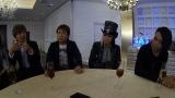 (左から)IZAM,真矢、KIBA、逹瑯(C)関西テレビ