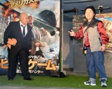 映画『ビッグゲーム 大統領と少年ハンター』公開記念イベントに出席したおかずクラブ(左から)ゆいP、オカリナ(C)ORICON NewS inc.