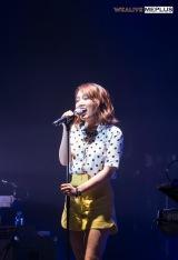 日本単独ライブを開催したユンナ