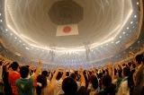 自身初の日本武道館公演を開催したUNISON SQUARE GARDEN Photo by Hisashi Mori