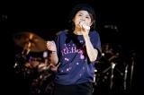 『REBECCA Preview Live』で熱唱するREBECCAのNOKKO(28日=東京・豊洲PIT)(C)Hajime Kamiiisaka