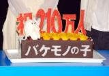 劇中に登場するキャラクター「チコ」をあしらったサプライズケーキ (C)ORICON NewS inc.