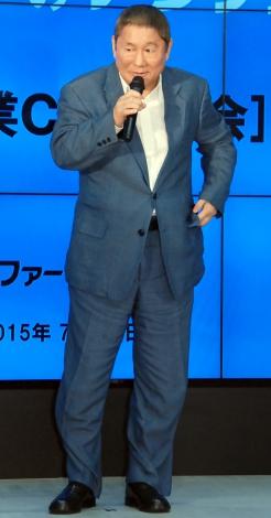 「アンファー新企業CM」発表会に出席したビートたけし (C)ORICON NewS inc.