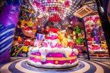 グルグル回るケーキ型メリーゴーランド「SWEET GO ROUND」