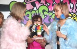 『KAWAII MONSTER CAFE』の記者発表会に出席したAMIAYA (C)ORICON NewS inc.