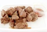 「熟成肉専門店・听(ポンド)」(京都)の「熟成黒毛和牛の赤身サイコロステーキ」