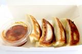 「四川飯店」(赤坂)の「肉汁たっぷり!サンラータン餃子」