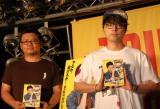 ドラマ『REPLAY&DESTROY』Blu-ray&DVD発売記念トークイベントに出席した(左から)飯塚健監督と山田孝之 (C)ORICON NewS inc.