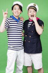 クマムシ(左から)佐藤大樹、長谷川俊輔(写真:草刈雅之)