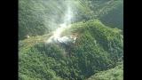 日航ジャンボ機墜落事故当時の映像=『8.12日航ジャンボ機墜落事故 30年の真相』 (C)TBS
