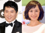 (左から)結婚についてともに「そっとしておいて」と発言した爆笑問題の田中裕二、山口もえ (C)ORICON NewS inc.