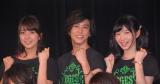 (左から)Ever Green Entertainment Show 2015』公演前囲み取材に出席した柳ゆり菜、佐野岳、岡本夏美 (C)ORICON NewS inc.