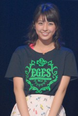 Ever Green Entertainment Show 2015』公演前囲み取材に出席した柳ゆり菜 (C)ORICON NewS inc.