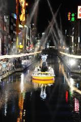 さまざまなパフォーマンスが繰り広げられた『水都大阪2015』オープニングイベント
