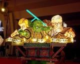 「青森ねぶた祭」前夜祭セレモニーでお披露目された「ジェダイねぶた」 (C)ORICON NewS inc.