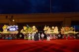 「青森ねぶた祭」前夜祭セレモニーでお披露目されたスター・ウォーズねぶた