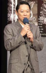 ドラマ『経世済民の男 小林一三』の完成試写会に出席した阿部サダヲ