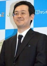 『Jコミックテラス』会社設立および事業に関する説明会に出席した取締役会会長の赤松健氏 (C)ORICON NewS inc.