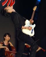 映画『ミッション:インポッシブル/ローグ・ネイション』のレッドカーペットイベントに出席したMIYAVI (C)ORICON NewS inc.