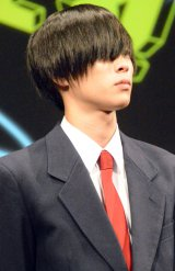 映画『みんな!エスパーだよ!』の完成披露試写会に出席した柾木玲弥 (C)ORICON NewS inc.