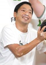笑顔で仕事復帰をした安田大サーカスの団長安田 (C)ORICON NewS inc.