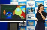 ディズニー・チャンネル『スティッチ!パーフェクトメモリー』のアフレコに挑戦した蒼井優 (C)ORICON NewS inc.