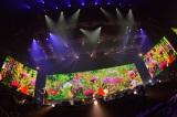 """鮮やかな演出も=全国ツアー『BUMP OF CHICKEN TOUR""""WILLPOLIS 2014""""』のファイナル公演 Photo by 古渓一道"""