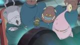 (左から)菅良太郎、尾形貴弘、向井慧が声を担当したエイリアン(C)Disney