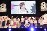 ファッションショー『NYLON JAPAN×WEGO meets AKB48 group produced by GirlsAward in a-nation island』の模様