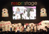 ファッションショー『NYLON JAPAN×WEGO meets AKB48 group produced by GirlsAward in a-nation island』の模様 (C)ORICON NewS inc.
