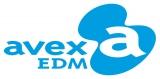 エイベックスの新レーベル「avex EDM」ロゴ