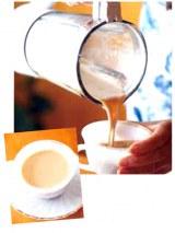 ミキサーで混ぜたココナッツミルクコーヒー