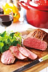 """「グローバル時代の""""食""""を考える」でも紹介されたイオントップバリュ商品『タスマニアビーフ』"""