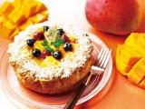 夏気分を楽しめる『マンゴーとココナッツのチーズタルト』価格:1620円(税込)