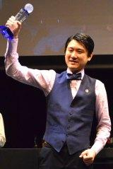 2015バーテンダー日本代表に選ばれた金子道人さん『ワールドクラス2015 ベストバーテンダー・オブ・ザ・イヤー グローバルファイナル』 (C)oricon ME inc.