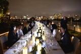ベイサイドの夜景を楽しみながら本場オーストラリア料理とワインを堪能