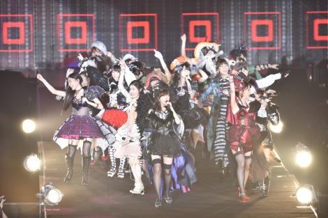 『AKB48真夏の単独コンサート in さいたまスーパーアリーナ〜川栄さんのことが好きでした〜』初日公演の模様(C)AKS