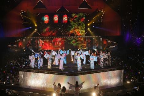 M24「一歩目音頭」〜『AKB48真夏の単独コンサート in さいたまスーパーアリーナ〜川栄さんのことが好きでした〜』初日公演(C)AKS