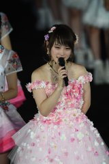 『AKB48真夏の単独コンサート in さいたまスーパーアリーナ〜川栄さんのことが好きでした〜』2日夜公演に出演した川栄李奈(C)AKS
