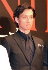 映画『GONIN サーガ』の完成報告記者会見に出席した安藤政信 (C)ORICON NewS inc.