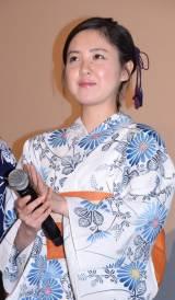 映画『向日葵の丘 1983年・夏』の完成披露舞台あいさつに出席した藤井武美(C)ORICON NewS inc.
