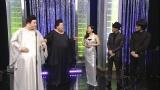8日放送の『マツコとマツコ』(毎週土曜 後11:00)でマツコロイドがCHEMISTRY・川畑要と椿鬼奴とそれぞれデュエット披露(C)日本テレビ