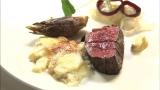 中道氏が30年以上、毎日レストランで出しているフランスの家庭料理の定番「じゃがいものグラタン」(C)HBC