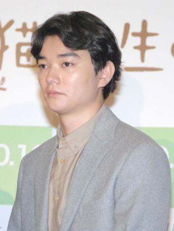 映画『先生と迷い猫』の完成披露試写会に出席した染谷将太 (C)ORICON NewS inc.