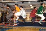 全員で大縄跳びに挑戦=映画『サボタージュ』公開記念イベント (C)ORICON NewS inc.